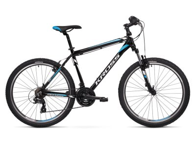 Bicicleta Montanha Kross Hexagon 1.0 Preto-Branco