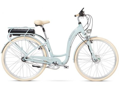 Bicicleta Elétrica Le Grand eLille 2 Verde Água
