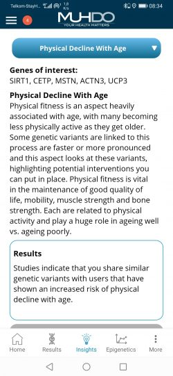 App Health Site Detail - Physical Decline with age