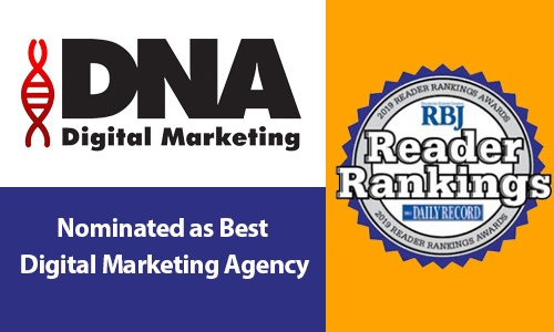 Nominated as Best Digital Marketing Agency in Rochester, best marketing agency, best digital marketing agency, DNA Digital Marketing