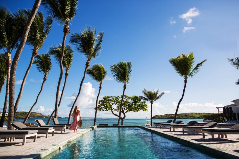 St. Barth hotel pool