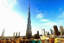 Burj Khalifa merupakan menara dengan tinggi 153 lantai yang sarat dengan fasilitas kemewahan