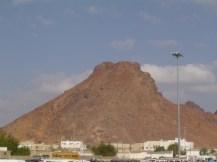 Jabal uhud : makam para syuhada