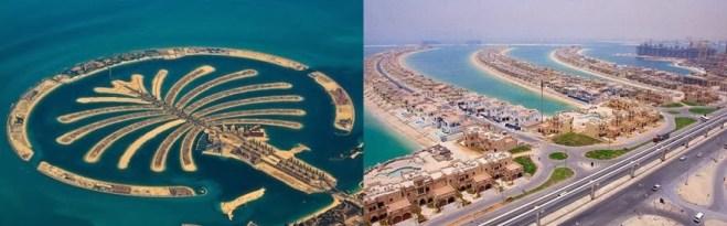 Palm Jumeirah memiliki hotel terkenal di dunia, tempat-tempat wisata yang menakjubkan, fashion mewah dan pusat perbelanjaan