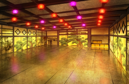 Japanese Hall Other Amp Anime Background Wallpapers On