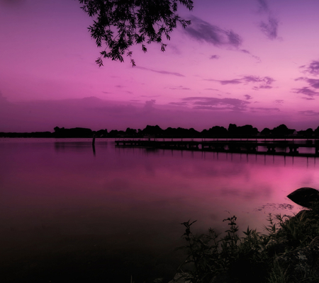 Purple Scenery Lakes Amp Nature Background Wallpapers On