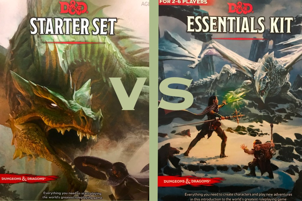 Starter Set vs  Essentials Kit
