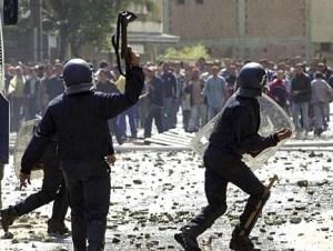 ALGERIA ELECTION RIOT