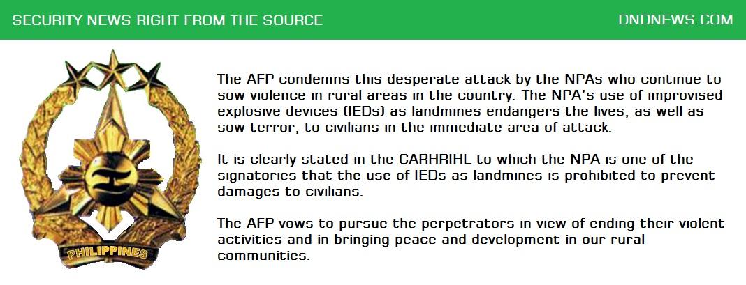 AFP DND NEWS