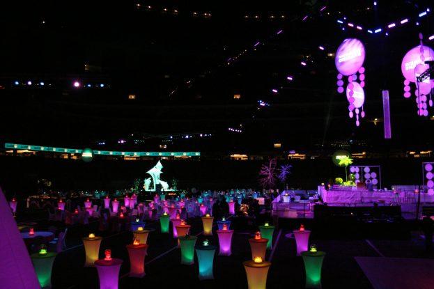 Custom LED lighting by D.N.E. Productions