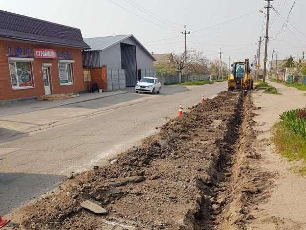 В Днепре на Игрени начали масштабный ремонт дороги: фото