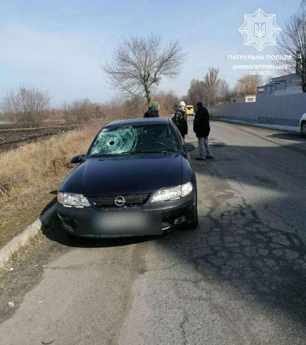 Возле аэропорта в Днепре Opel сбил мужчину - новости Днепра