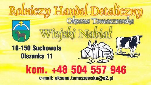 Olszański smak - Oksana Tomaszewska