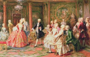Rococo Painting Reproductions For Sale   1st Art Gallery Rococo painting reproductions  The Waltz