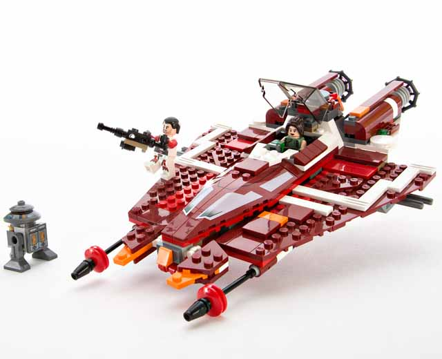 LEGO Star Wars Republic Striker class Starfighter 9497   Pley   Buy     Your review on  Star Wars   Republic Striker class Starfighter