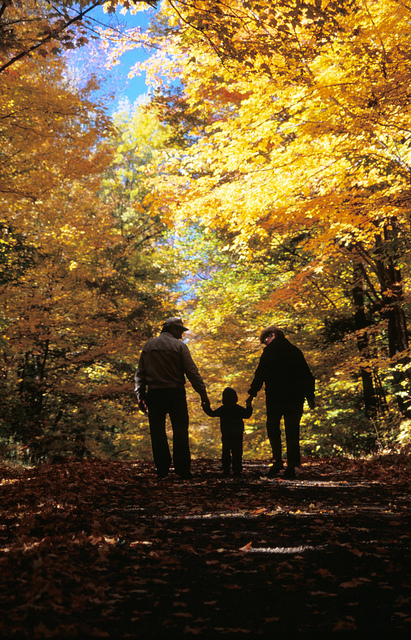Fall is one of the best times for a family hike in Wisconsin.