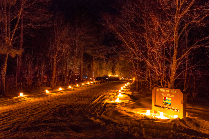 There will be more than 20 candlelight events held over the next three weekends, including the 26th annual event at the Flambeau River State Forest. - Photo credit: Jim Kuchler, Friends of Flambeau River SF