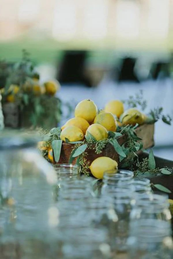 10 Easy DIY Ideas For Flowerless Wedding Centerpieces