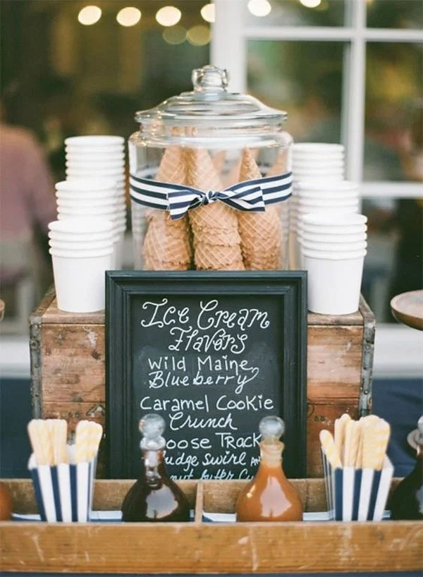 THESE 10 WEDDING FOOD BAR IDEAS LOOK AMAZING