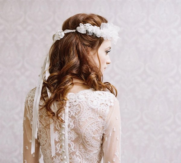 Erica Elizabeth Design Bridal Silk Flower Crown