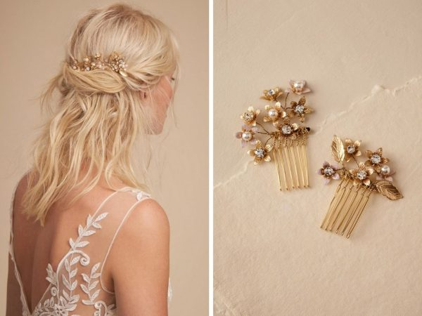 Ti Adoro Abbington Hair Combs at BHLDN