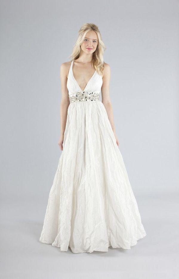 Nicole Miller Zoe Embellished Wedding Gown ($675)