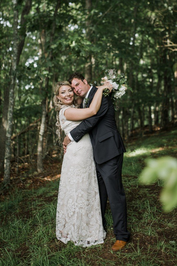 Sam & Angie Trade the Beach for Mountains on Their Wedding Day