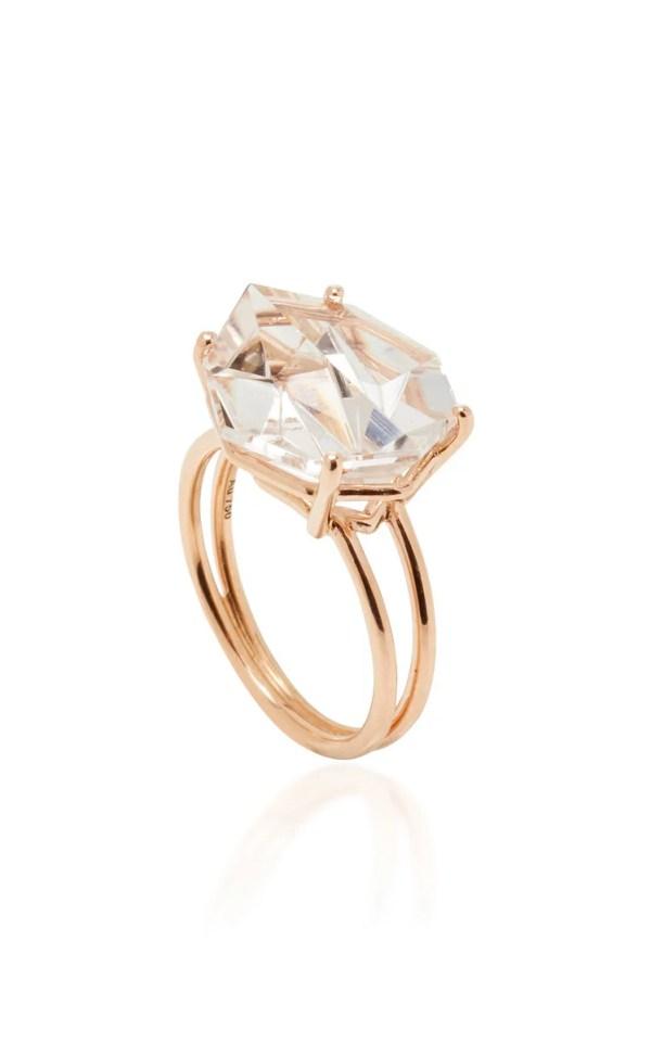 MISUI 18K Rose Gold Morganite Ring ($5,450)