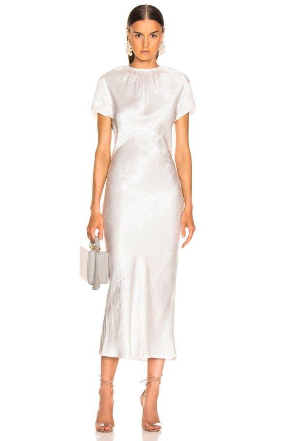GEORGIA ALICE Tee Dress in White