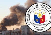 "The Department of Foreign Affairs is ""launching all efforts"" to locate the Filipinos who had gone missing during the blast that rocked Beirut earlier today."