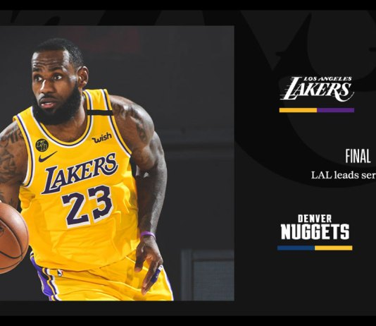 Photo from Los Angeles Lakers twitter page.