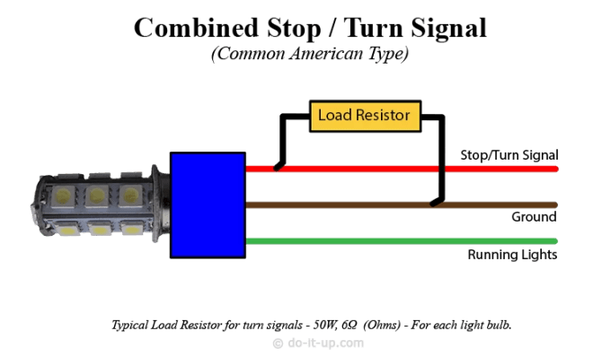 doitup  » how to install load resistors for led turn