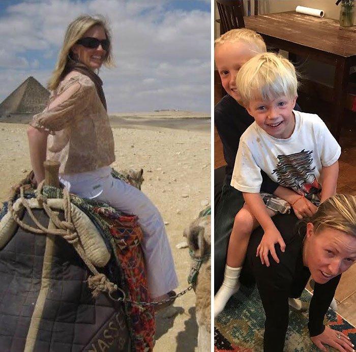 14 фото о том, как дети кардинально меняют жизнь родителей