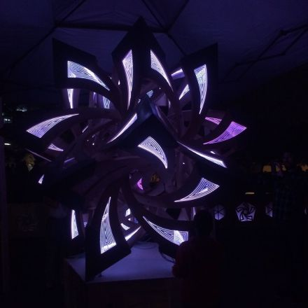 SXSW Eco Light Show