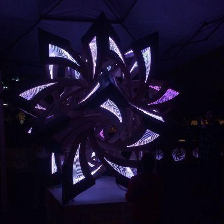 SXSW Eco Light Show