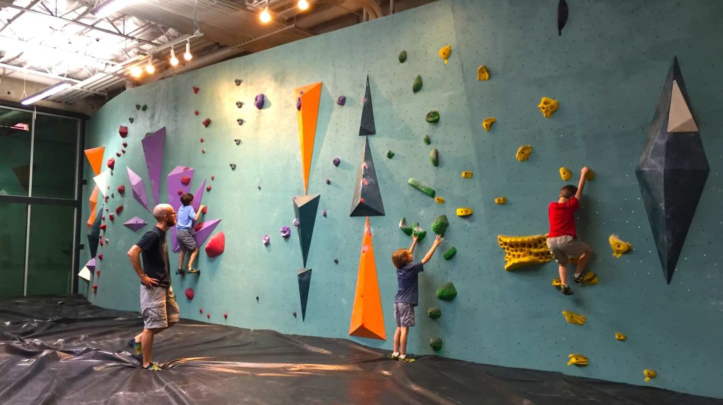 Climbing Fun at Austin Bouldering Project – Do512 Family