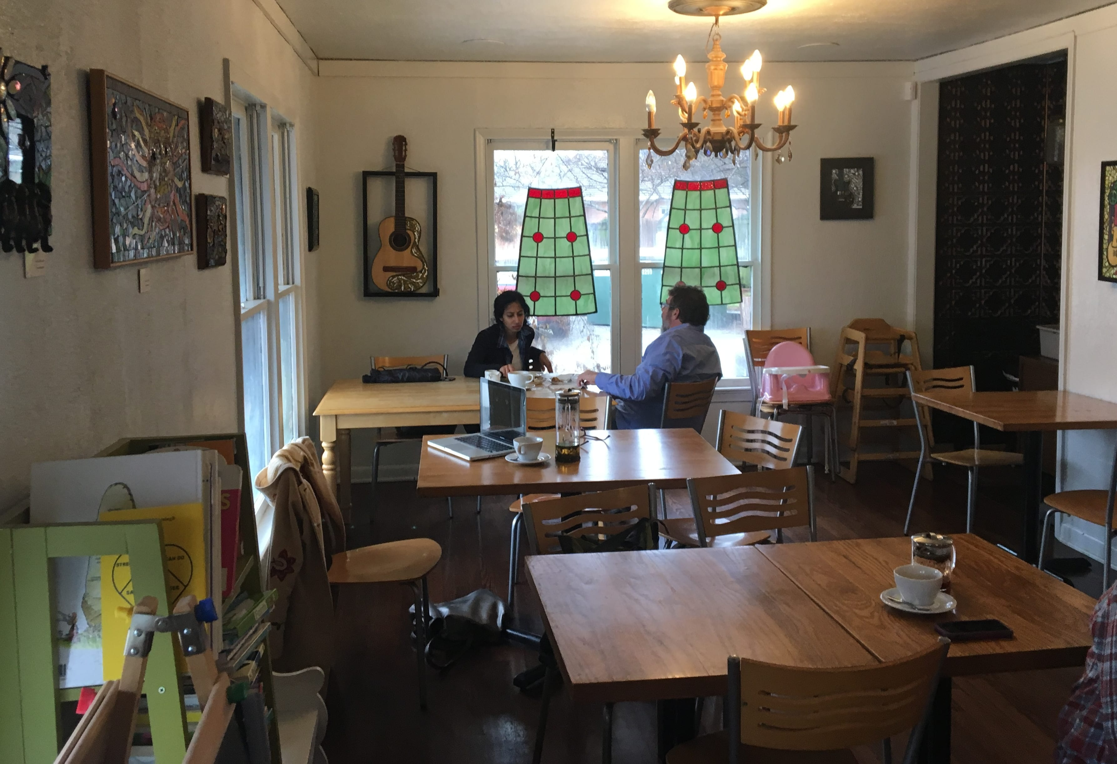 Brentwood Social House Tea Pastries Family Friendly Space