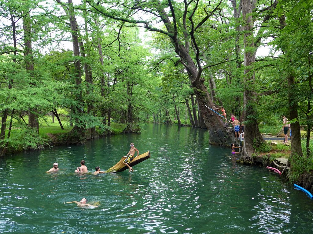 Best Swimming Holes Around Austin Do512 Family