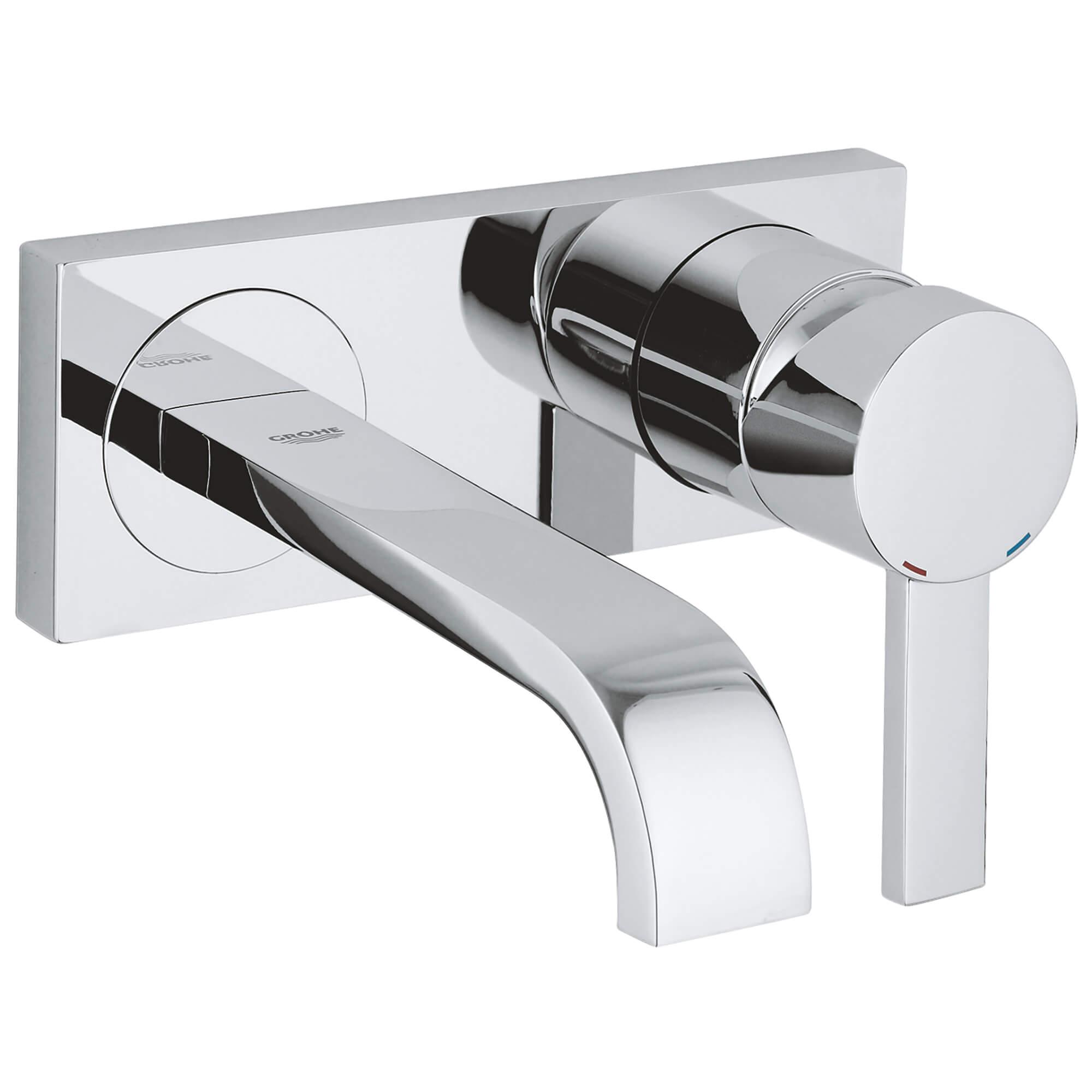 single handle 2 hole wall mount vessel small bathroom faucet 5 7 l min 1 5 gpm
