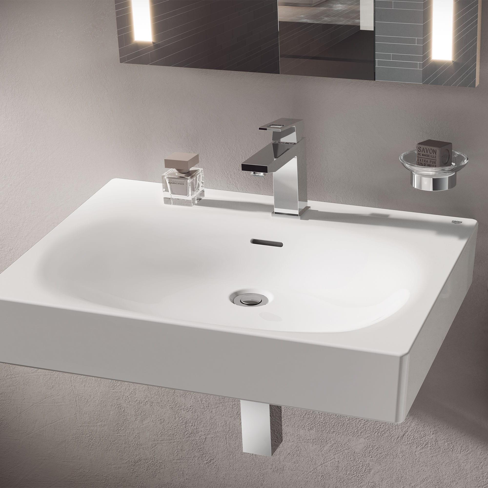 wall mount 24 bathroom sink 1 hole