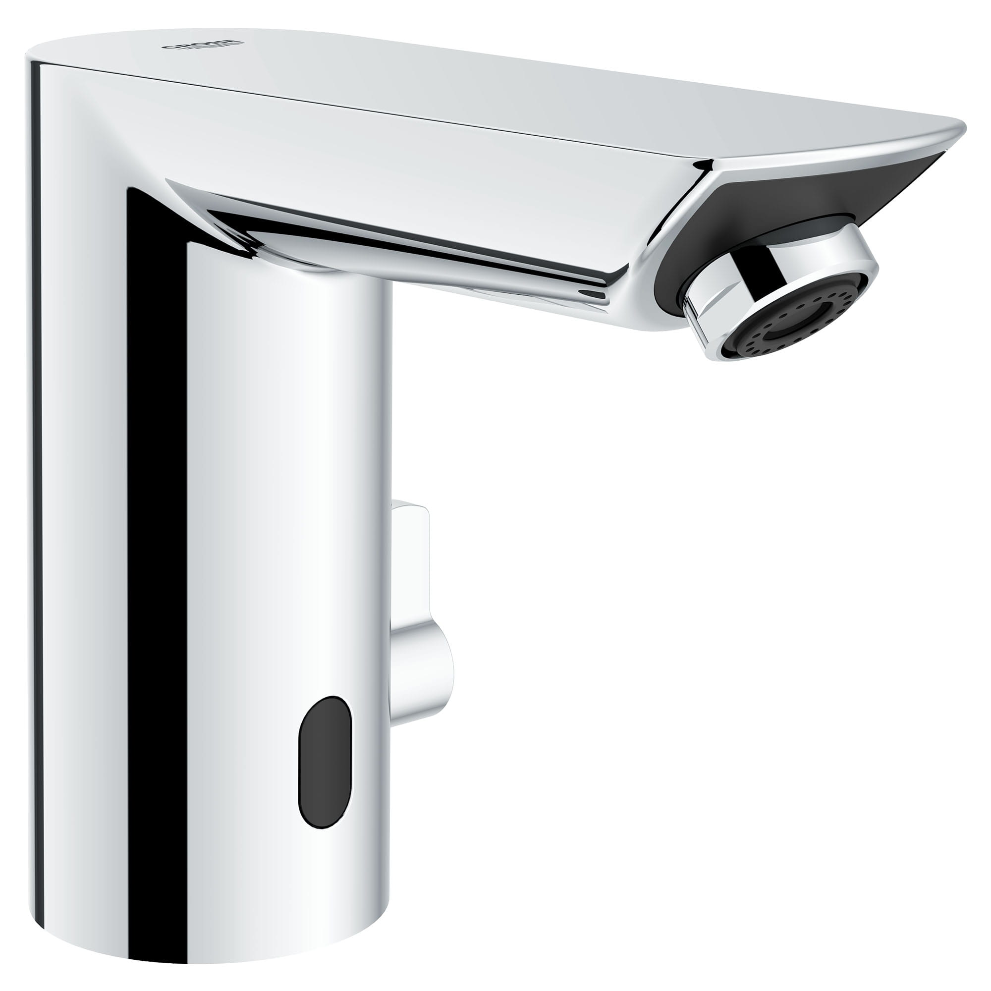 e touchless electronic faucet with temperature control lever ac powered