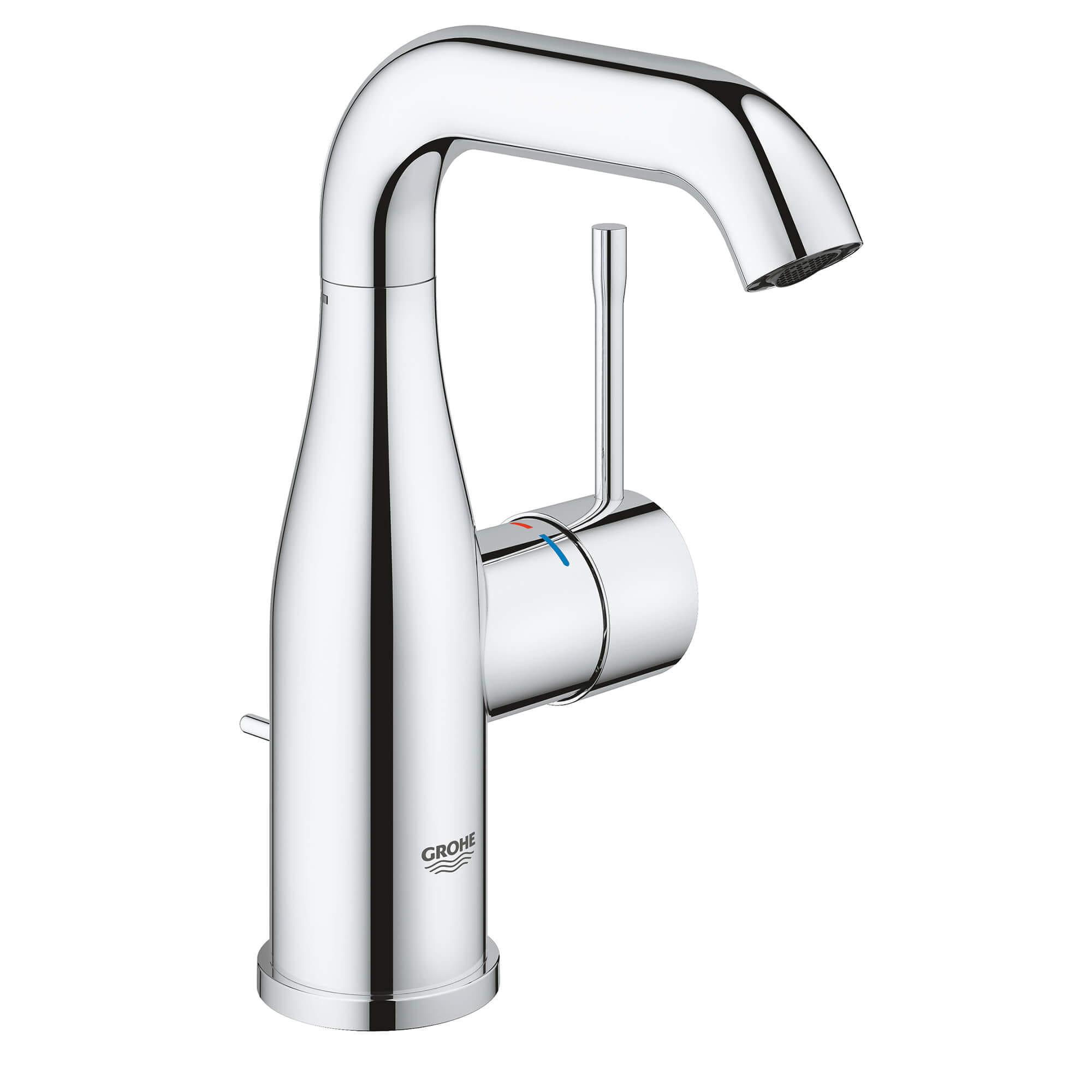 single hole single handle m size bathroom faucet 1 2 gpm
