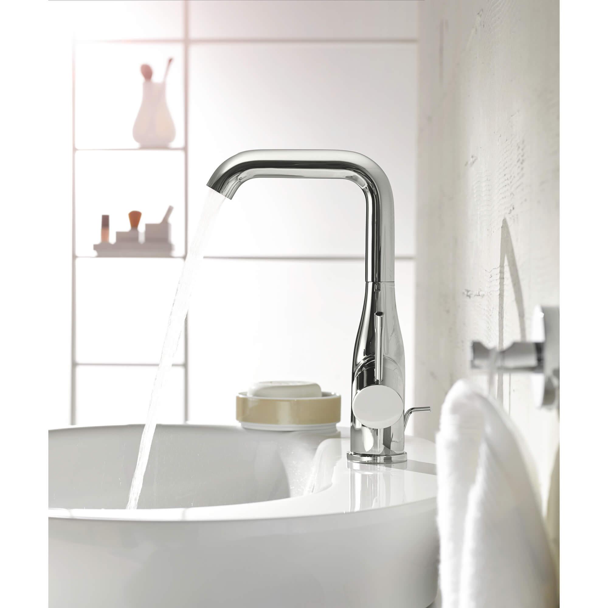 side handle centerset bathroom faucet l size