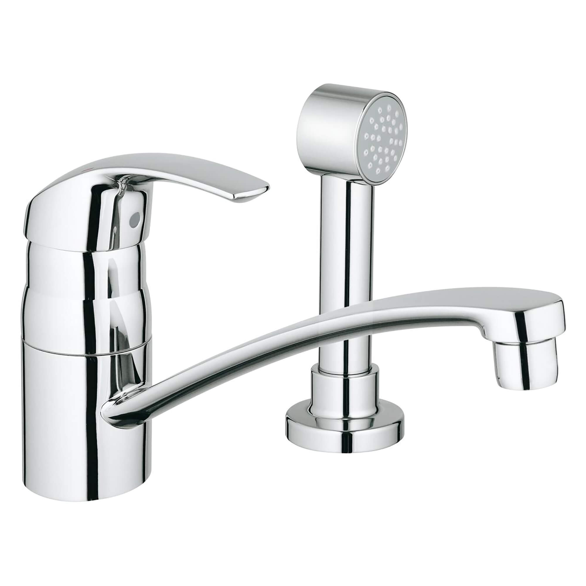 single handle kitchen faucet 1 75 gpm with side spray