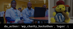 wordpress doaction hackathon lagos 2018