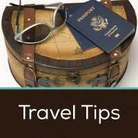 Travel Tips Button