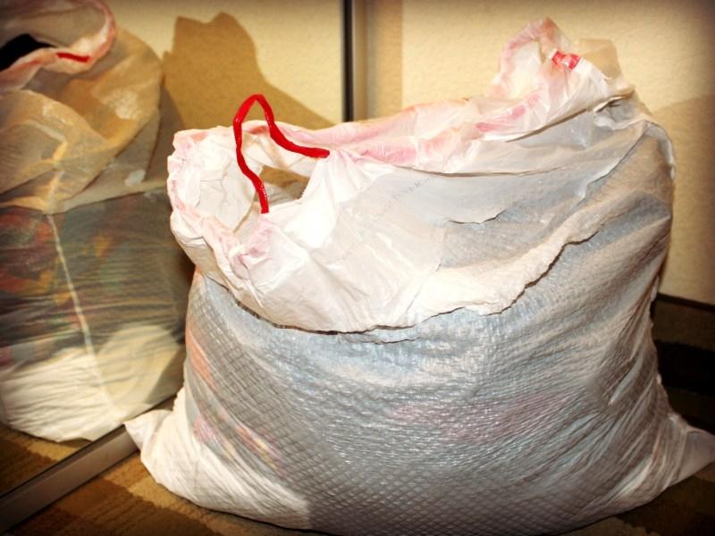 Laundry Garbage bag