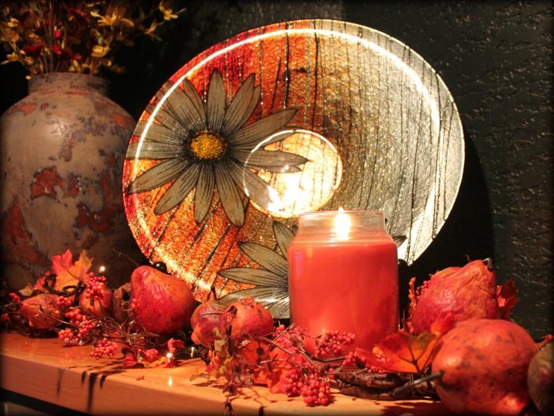 Pumpkin Spice Candle 1