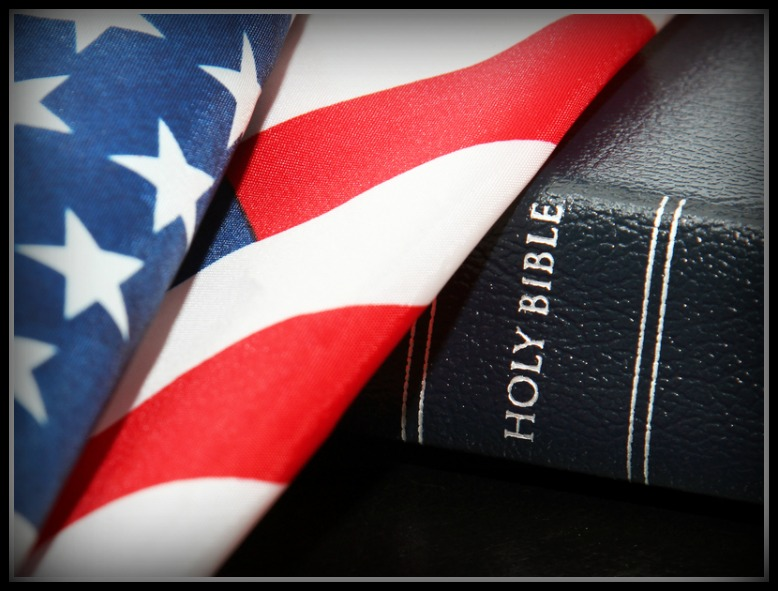Flag and Bible