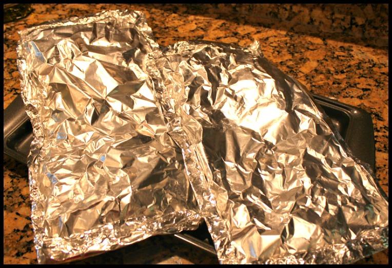 Diced Potatoes in Aluminum
